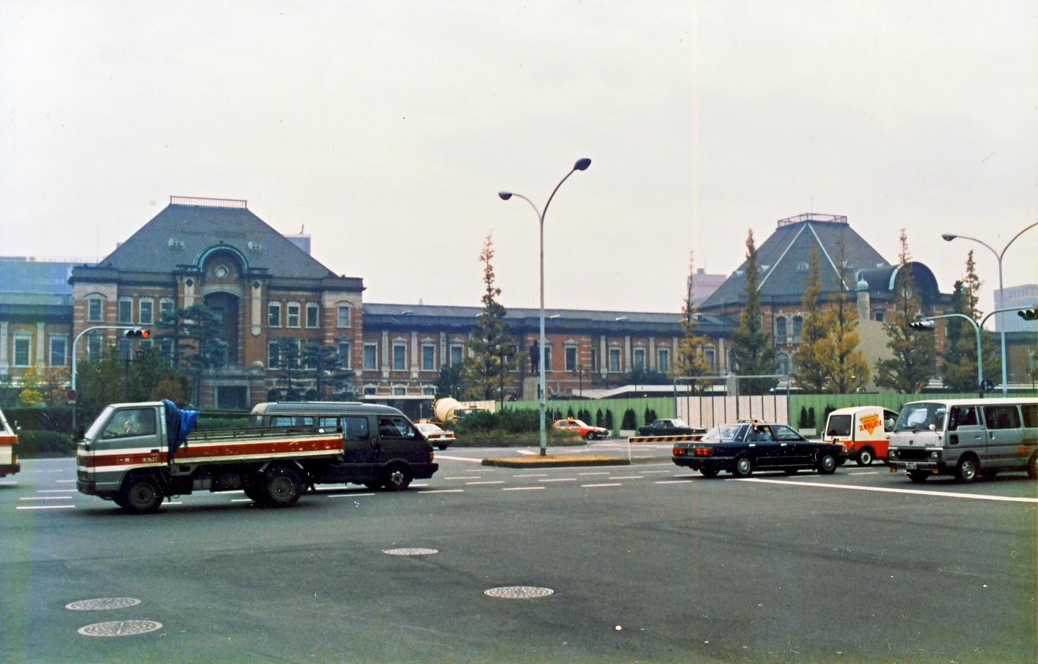 丸の内駅舎(赤レンガ)】~1989...